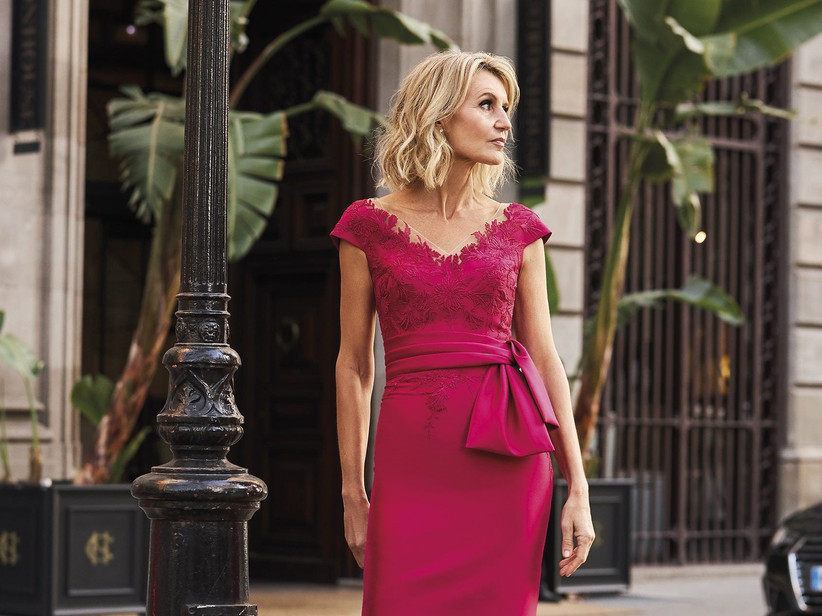Pink Dress Touch For Formal Occasions